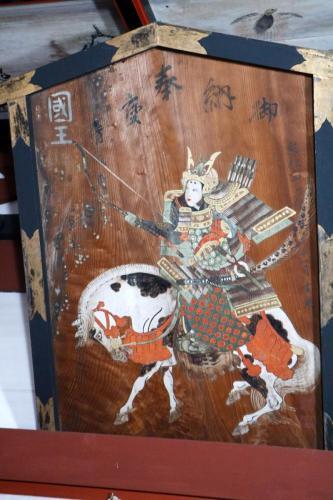 大絵馬(神功皇后図)